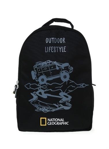 National Geographic Sırt Çantası Siyah
